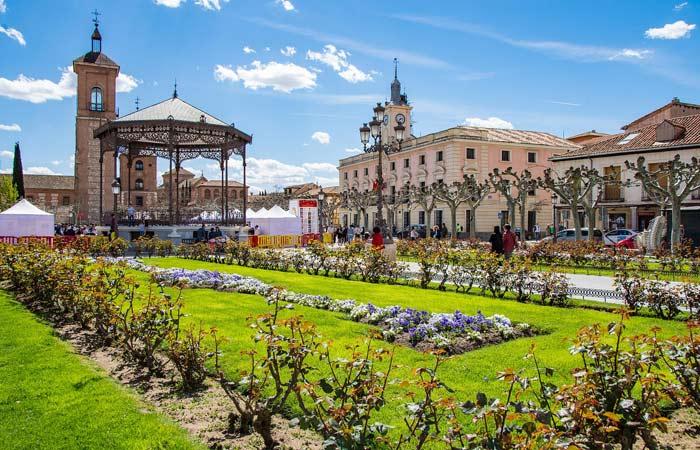 Hoteles en Alcalá de Henares, Madrid